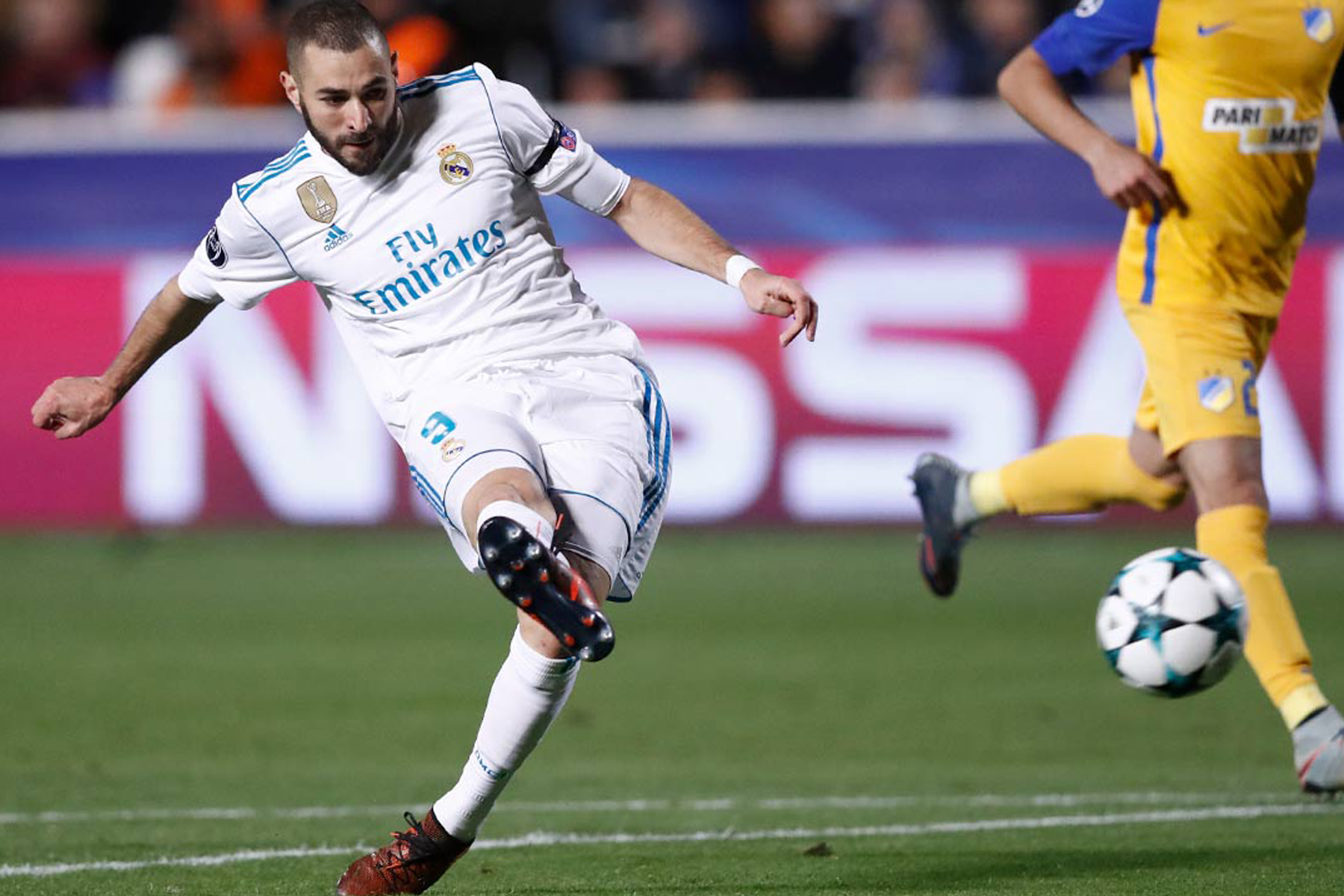 Real Madrid golea 0-6 al Apoel