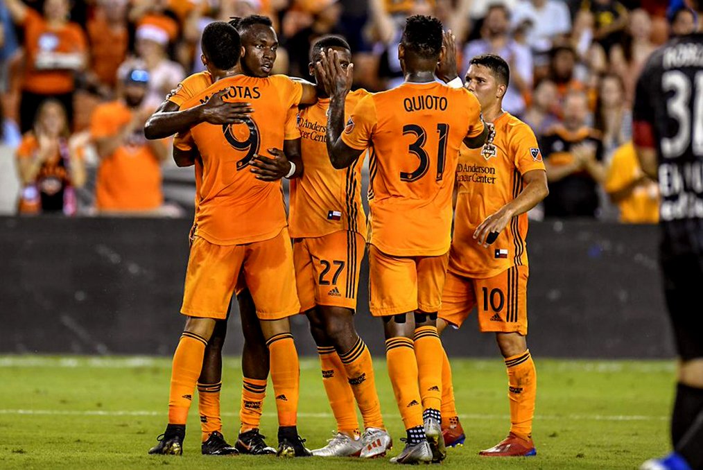 Houston Dynamo goleó al New York Red Bulls