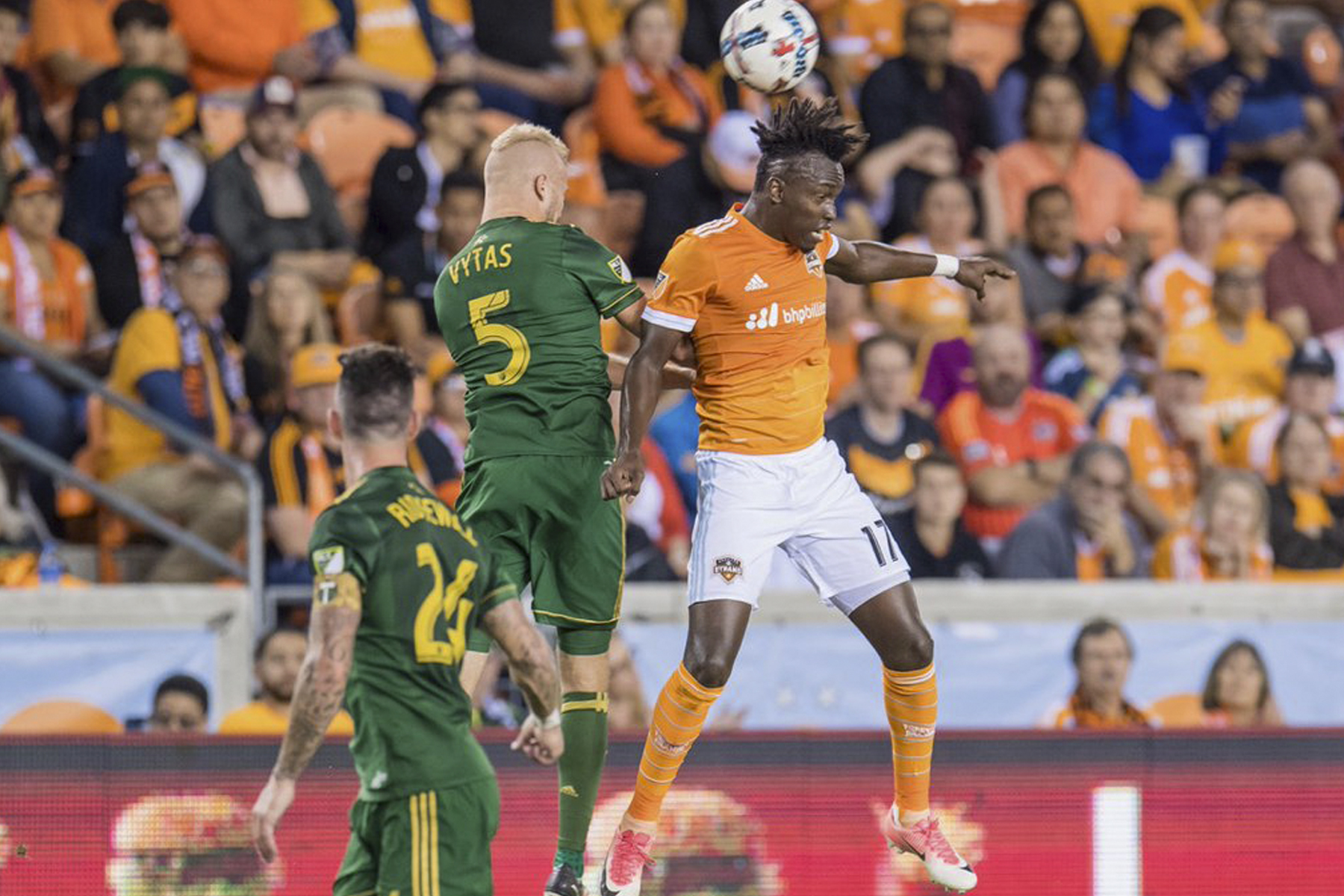 Houston Dynamo 0-0 Portland Timbers