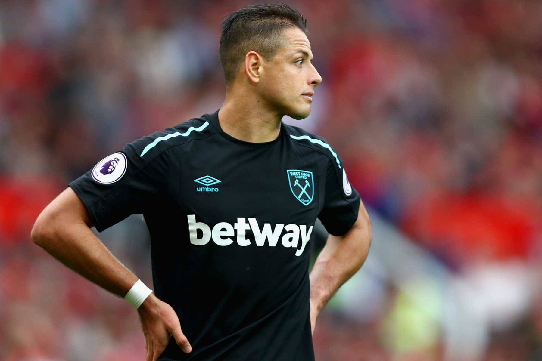 ''Chicharito'' regresa al campo del West Ham