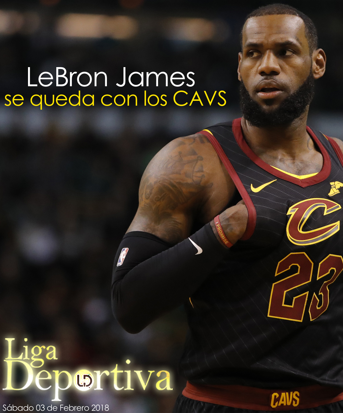 LeBron James desmiente irse a los Warriors