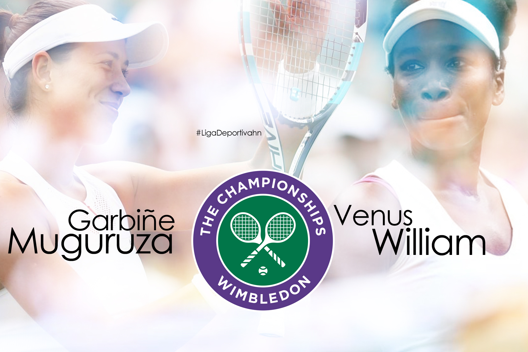 Garbiñe Muguruza y Venus William se enfrentaran en la final de Wimbledon