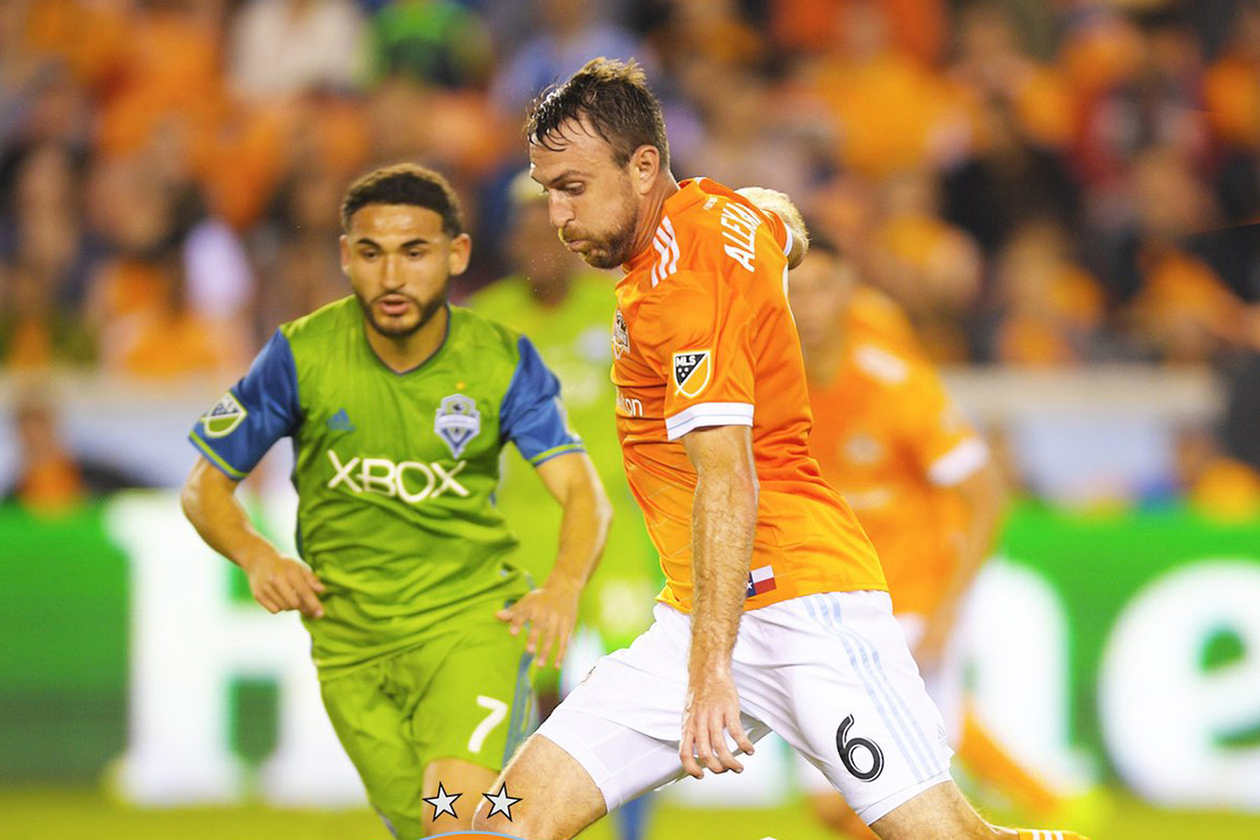 Seattle Sounders derrota 2-0 al Houston Dynamo