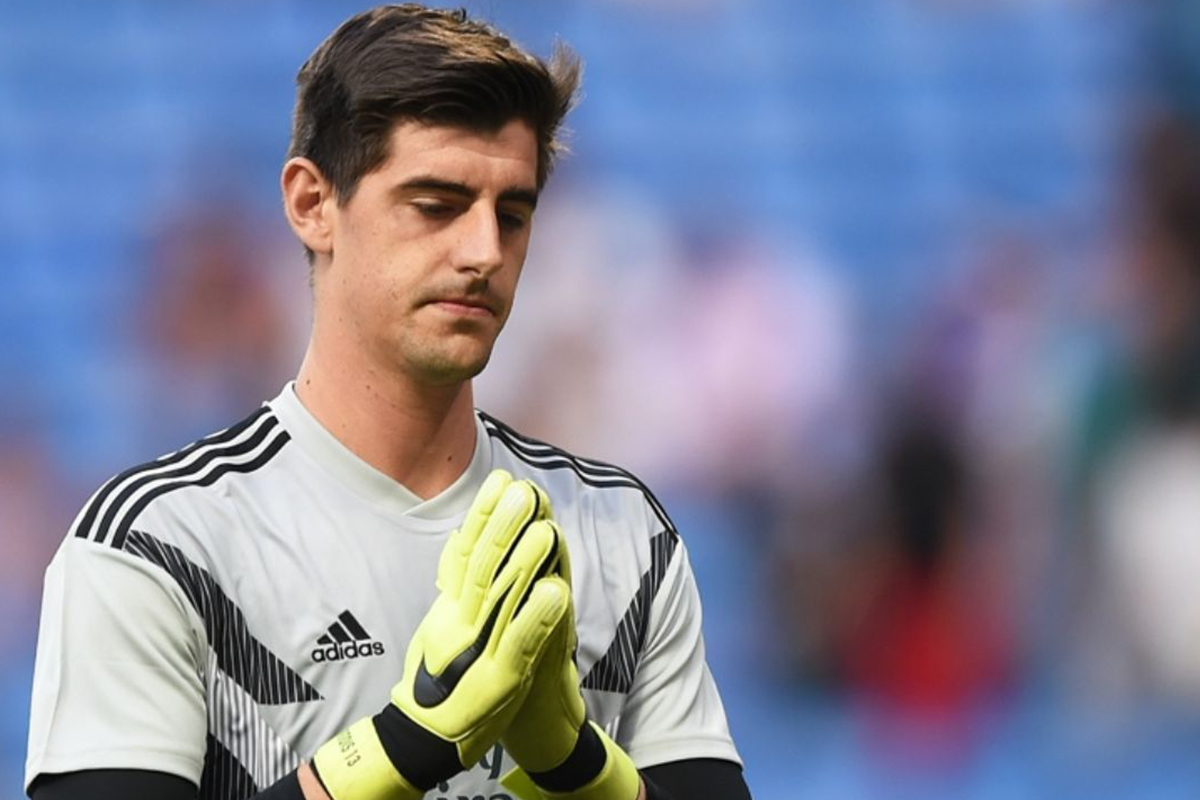 Real Madrid confirma lesión de Courtois