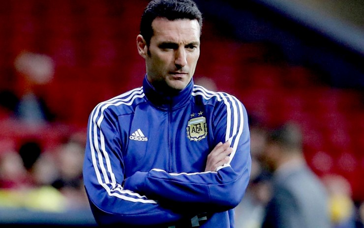 Lionel Scaloni sufrió accidente