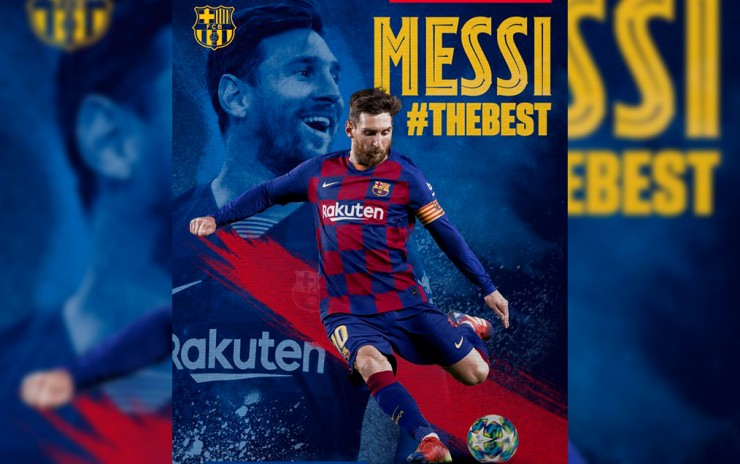 Lionel Messi gana el The Best 2019