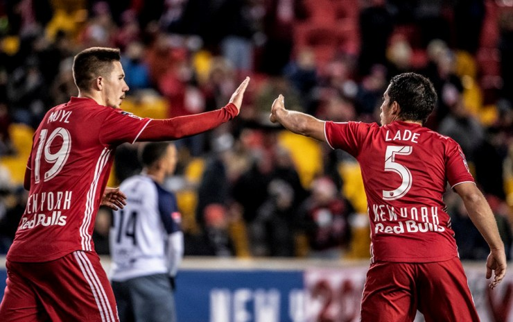 New York Red Bull venció 3-0 al Atletico Pantoja