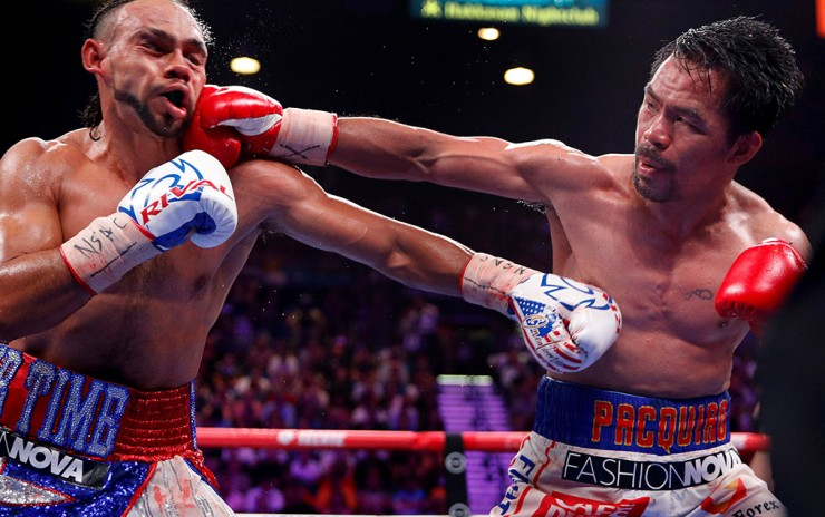 Manny Pacquiao: ¡Campeón Super Welter!