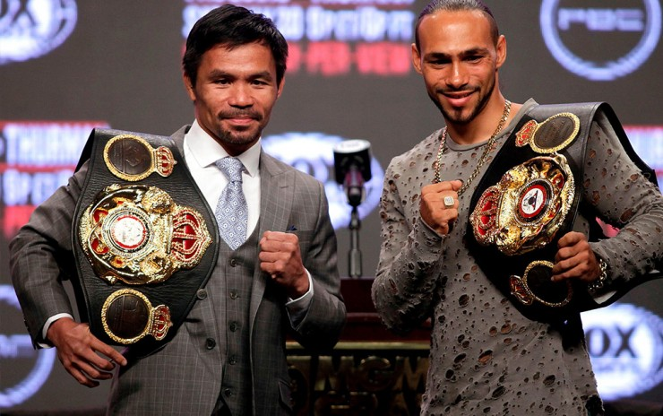 Manny Pacquiao vrs. Keith Thurman