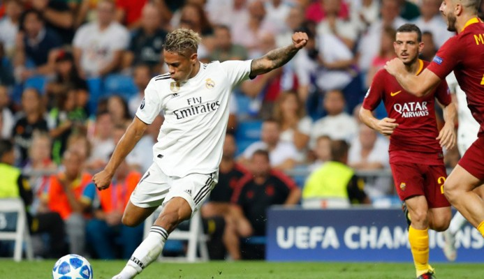 Real Madrid golea 3-0 a la Roma
