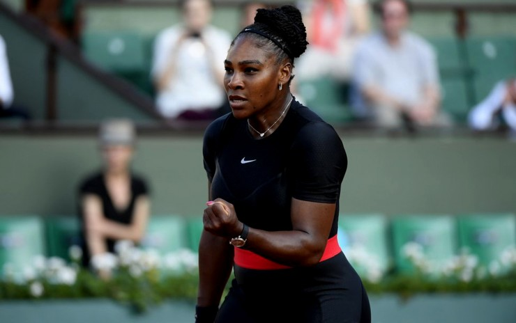 Serena Williams se retira de Roland Garros